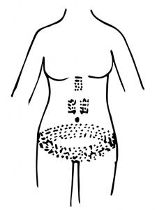 Amunet mummy tattoos